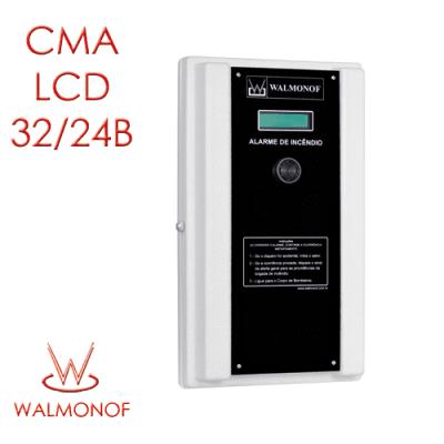 Central Convencional LCD – 32 Endereços 24 V