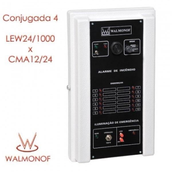 Central Conjugada 4 – LEW24/1000 x CMA12/24