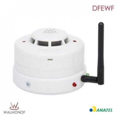 Detector de fumaça Sem Fio