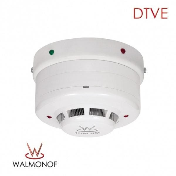 Detector de Temperatura e Termo-Velocimétrico Enderecável