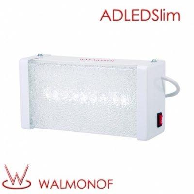 Iluminação de Emergência Autônoma modelo Slim para aclaramento/balizamento com LED em SMD