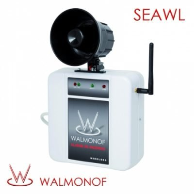 Sirene Sem Fio (Wireless) Corneta